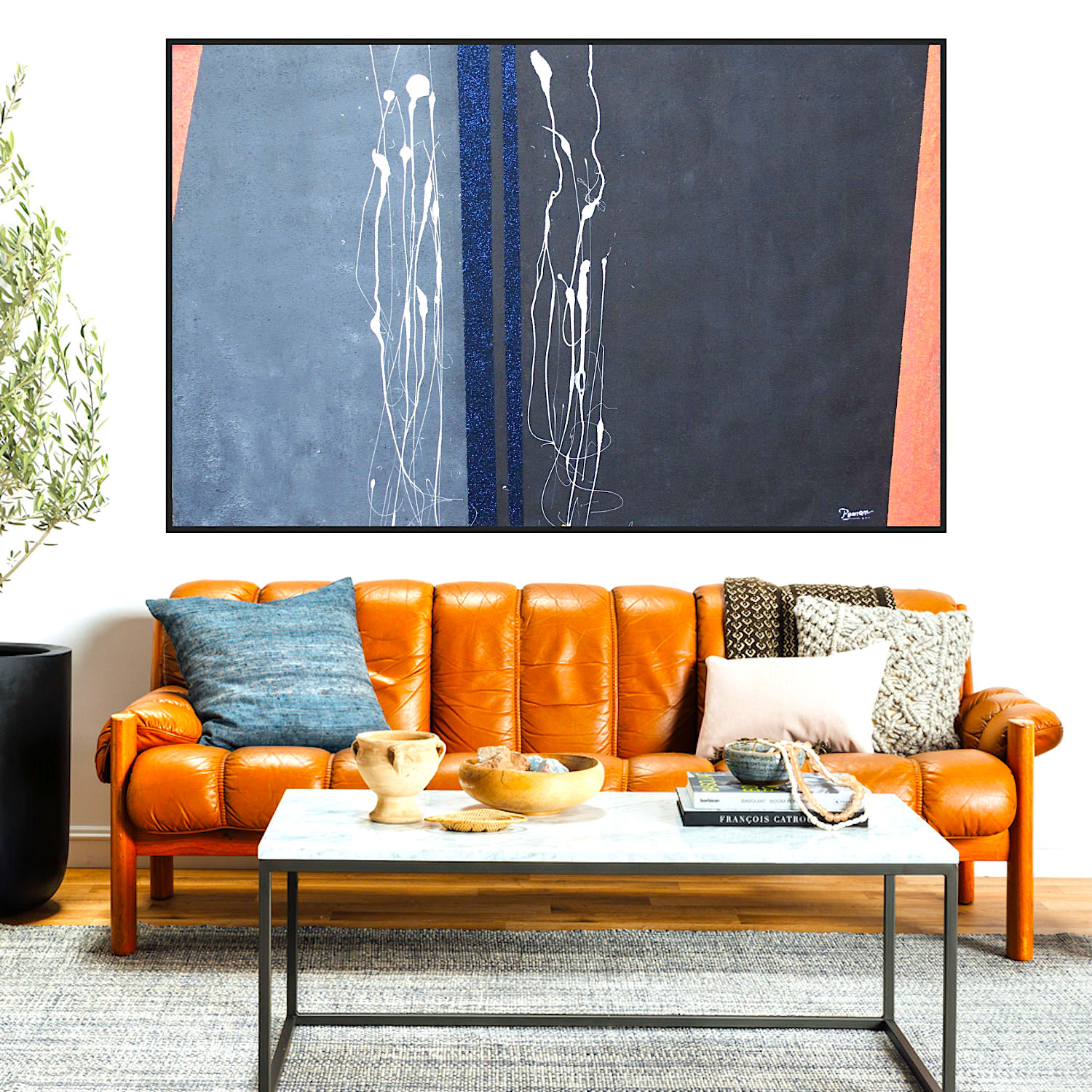 How to curate and display art for your home